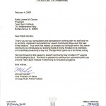 Chicago Rush Jewish Community Day Letter